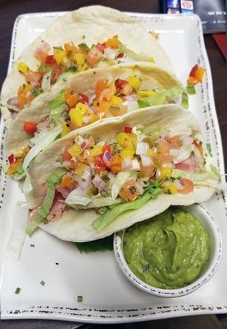 Molly Pitchers - Ahi Tuna Tacos