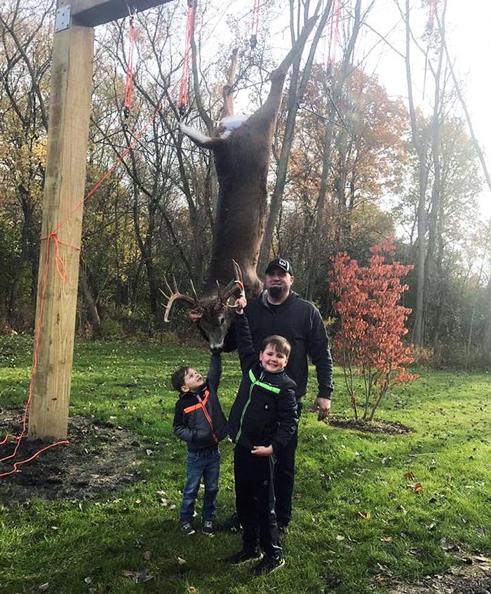 Huron Valley Guns - First Buck on Buck Pole