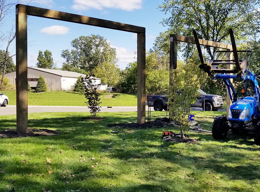 Huron Valley Guns - Setting Up the Buck Poles