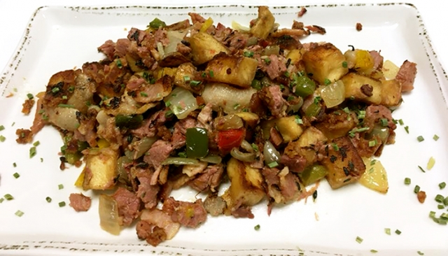 Molly Pitchers - Corned Beef Hash