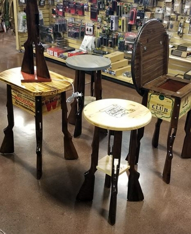 Huron Valley Guns - Side Tables