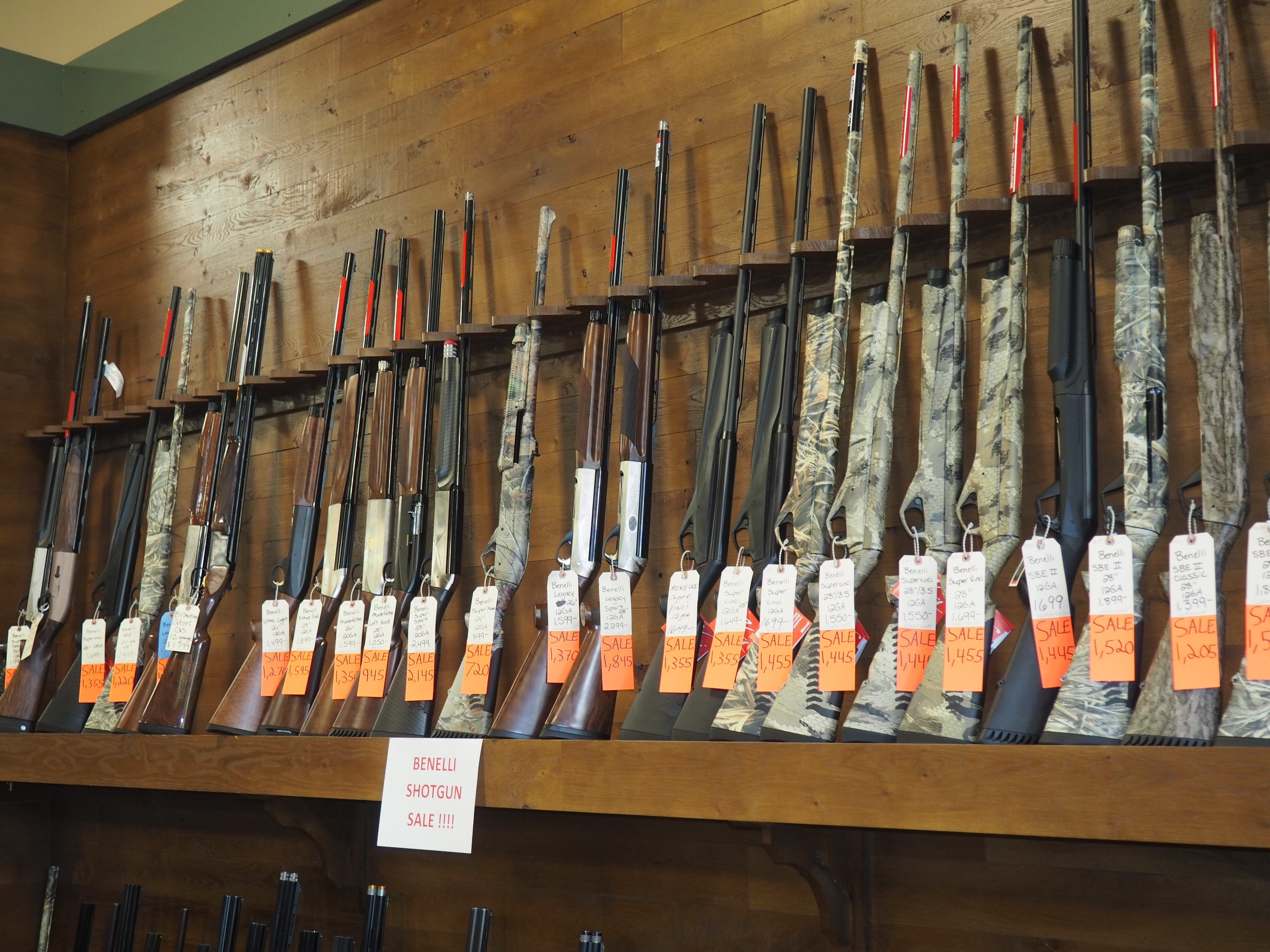 Huron Valley Guns - Benelli Shotguns