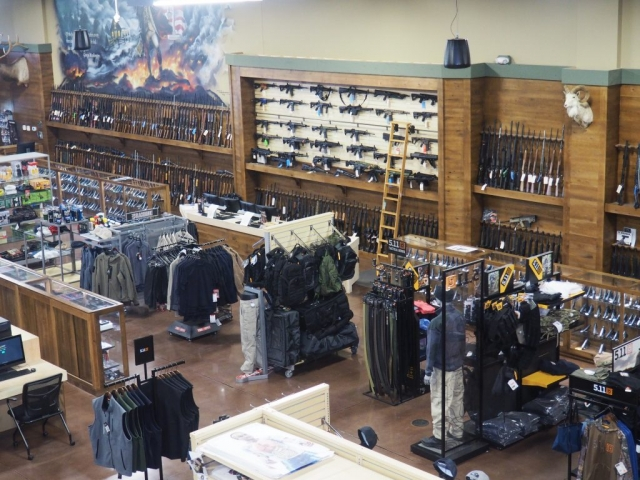 Huron Valley Guns - Retail Floor