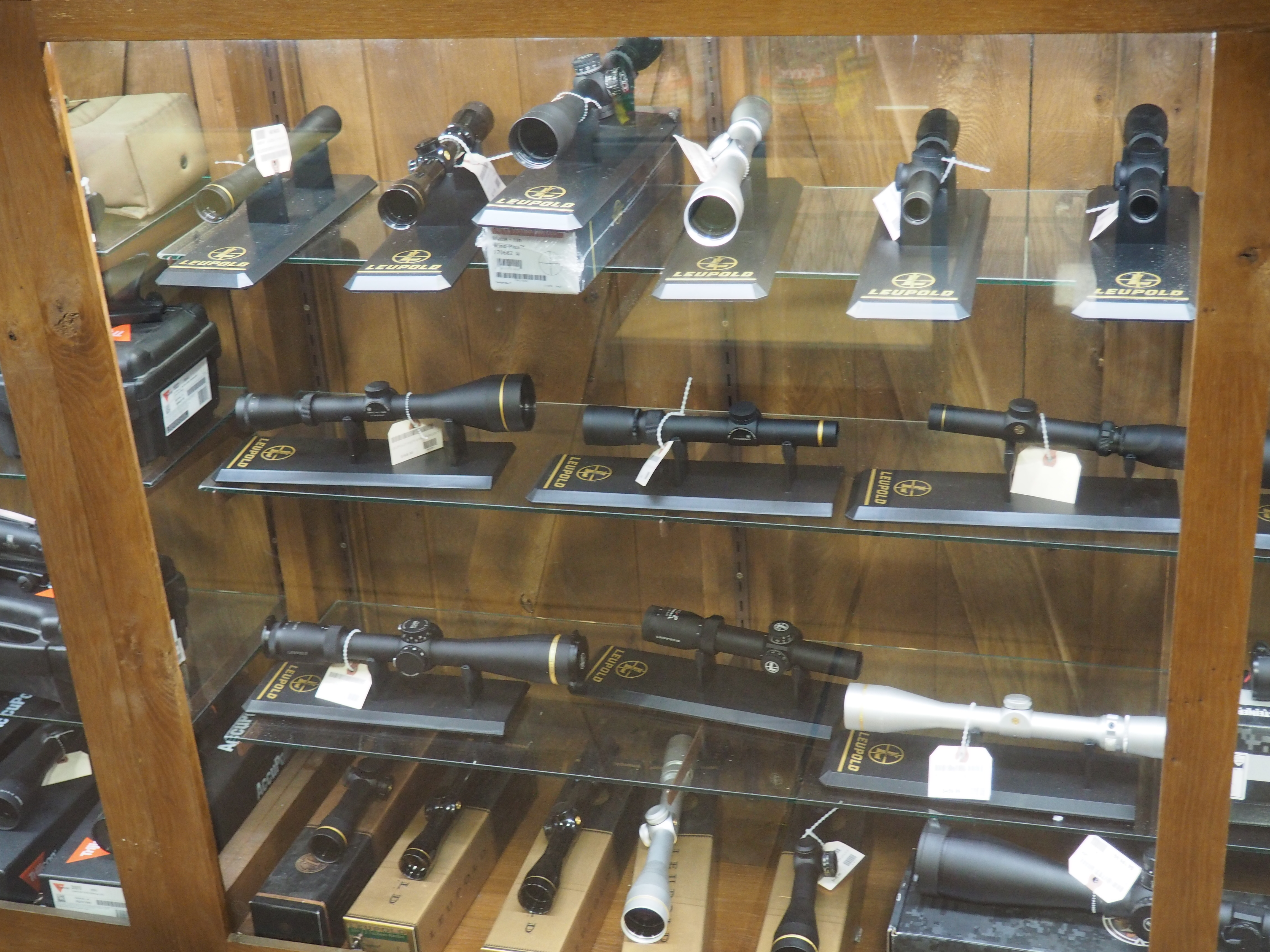Huron Valley Guns - Scopes / Optics