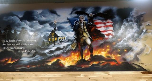 Huron Valley Guns - George Washington Mural