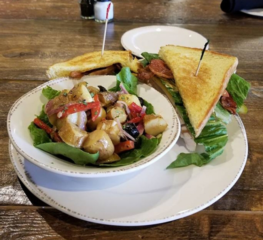 Molly Pitchers - Turkey Club with Tuscan Potatoes