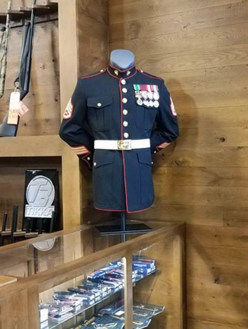 Huron Valley Guns - USMC Dress Blue Coat